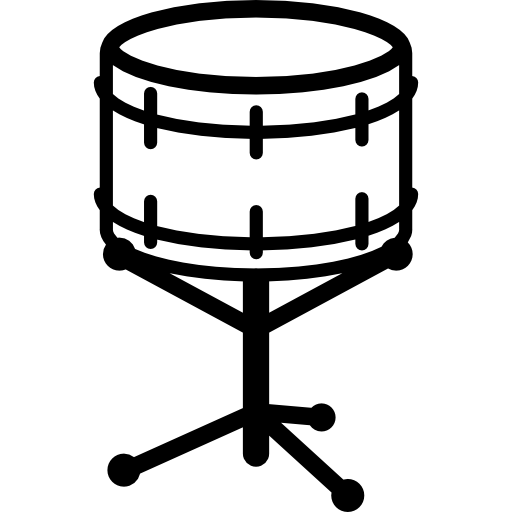 Snare Drum Outline Icons Free Download