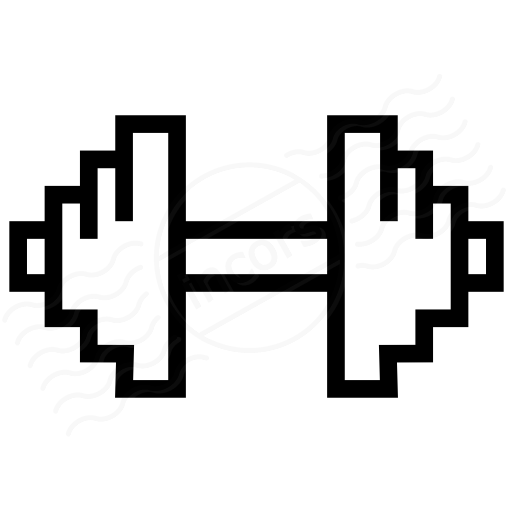 Iconexperience I Collection Dumbbell Icon