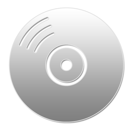 Cd Dvd Drive W Icons, Free Icons In Devine Icons Part