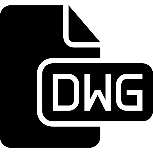 Dwg Format Solid Black Interface Symbol