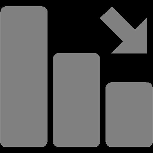 Gray Negative Dynamic Icon