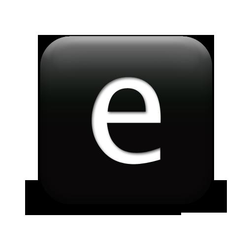 Letter E Icons
