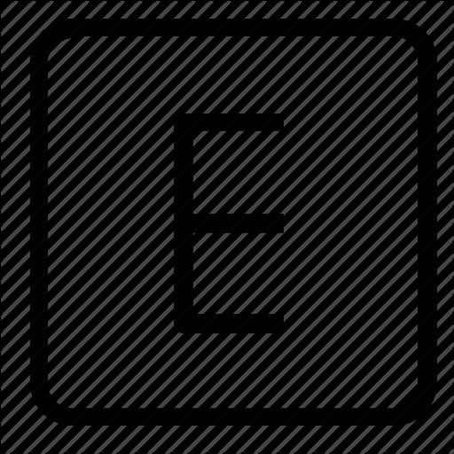 Camera, E Icon