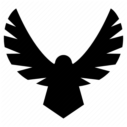 Eagle, Eagle Logo, Falcon, Flying Eagle, Hawk Icon