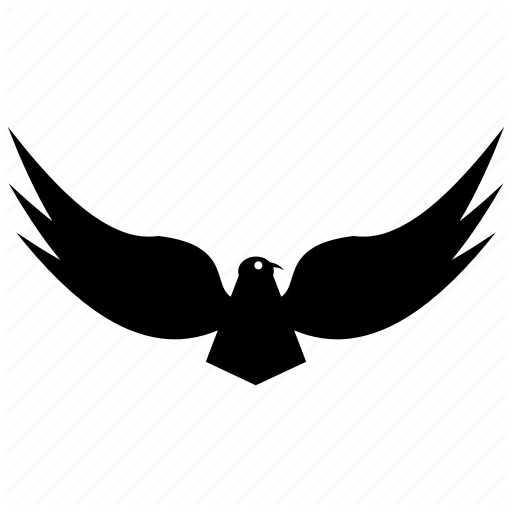 Eagle, Eagle Emblem, Flying Eagle, Hawk, Kite Falcon Icon