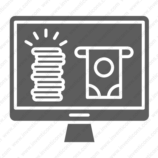 Download Earn,online Icon Inventicons