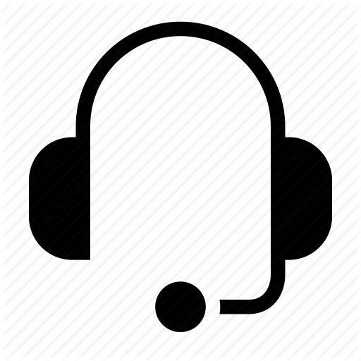 Contact, Earphone, Earpiece, Headphone, Headset Icon