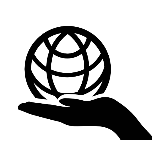 Hands Earth Icon Download Free Icons
