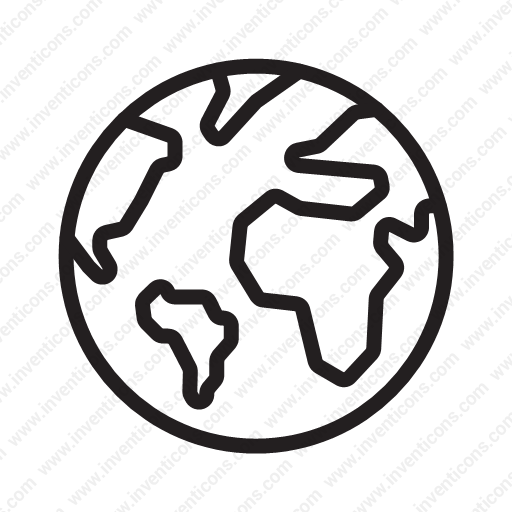 Download Planet Earth Icon Inventicons