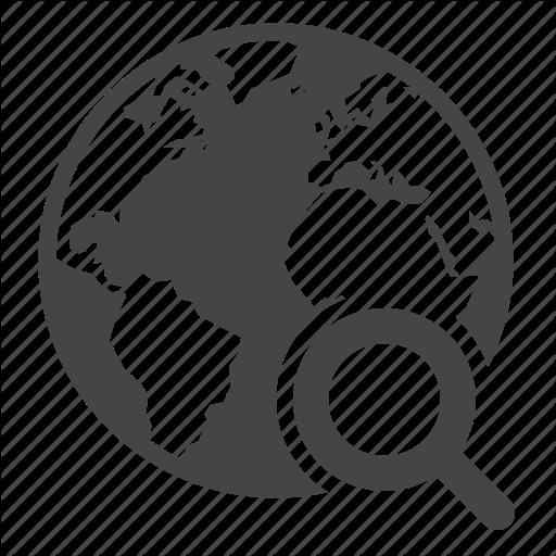 Earth, Globe, Search Engine, Seo Icon