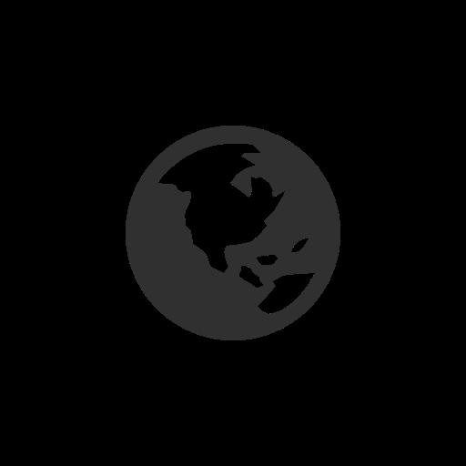 Earth, Facebook, Globe, Notification Icon