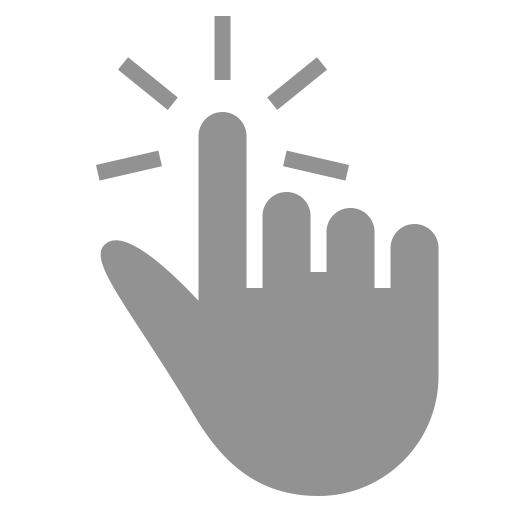 Click, Finger, One Icon