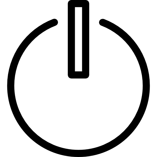 Standby, Power Icon