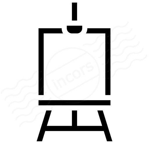 Iconexperience I Collection Easel Icon