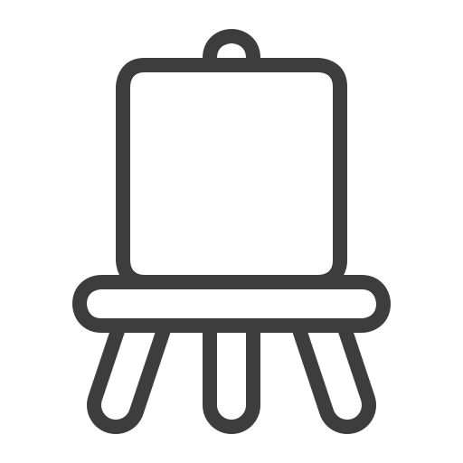 Easel Icon Free Of The Art Tools