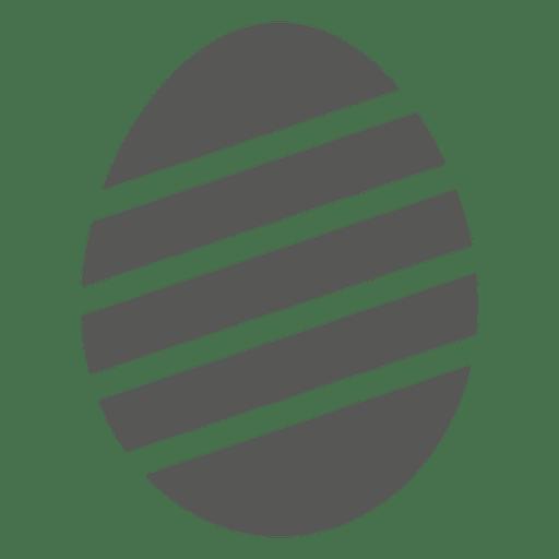 Stripy Easter Egg Icon