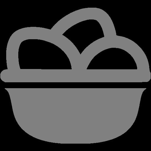 Gray Eggs Icon