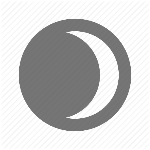 Eclipse, Lunar, Moon Icon