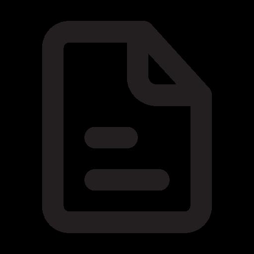 , Text, Outline Icon Free Of Eva Outline Icons