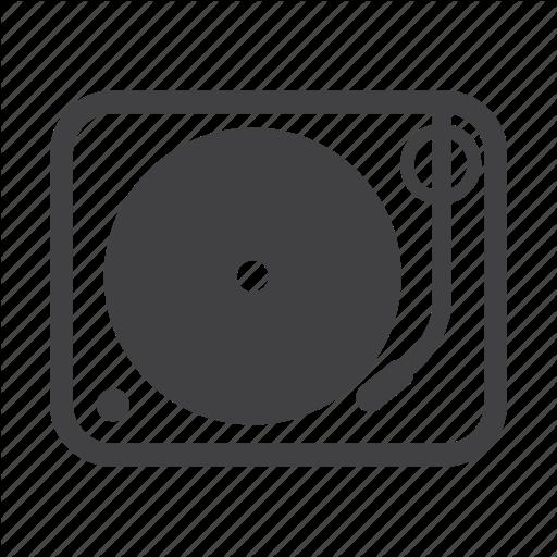 Disc Jockey, Dj, Edm, Music, Turntable Icon