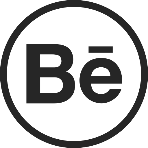 Behance, Circle, High Quality, Media, Portfolio, Social, Social