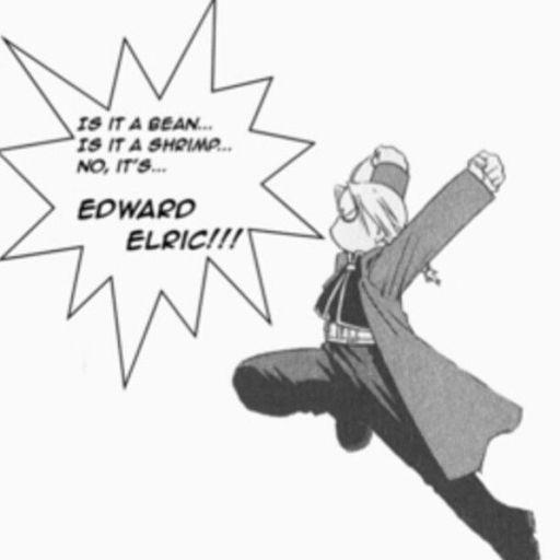 It's Edward Elric!!! Manga Amino