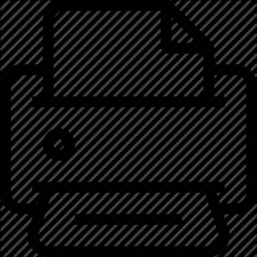 Efax Template Document Fax Icon Symbols