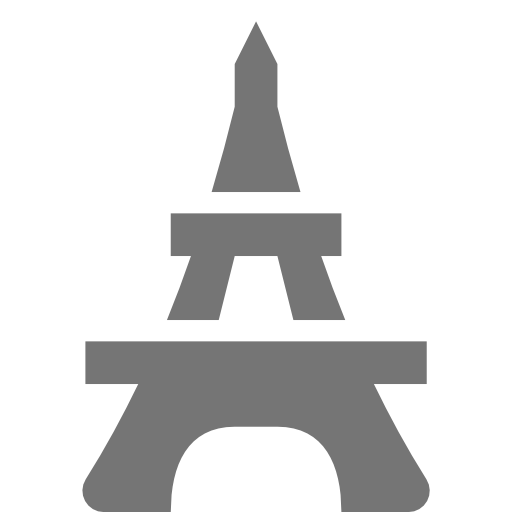 Places, Eiffel, Tower Icon Free Of Nova Solid Icons