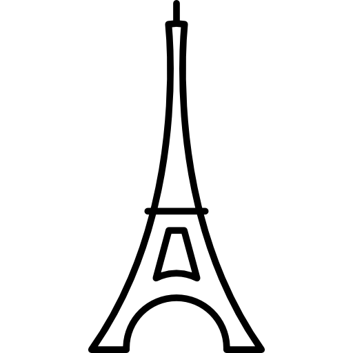 The Eiffel Tower Icons Free Download