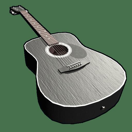 Black Acoustic Guitar Rust Wiki Fandom Powered