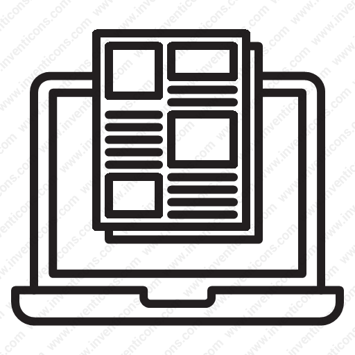 Download Electronic Catalogs Icon Inventicons