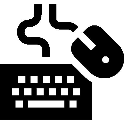 Keyboard And Mouse Icon Programming Element Freepik