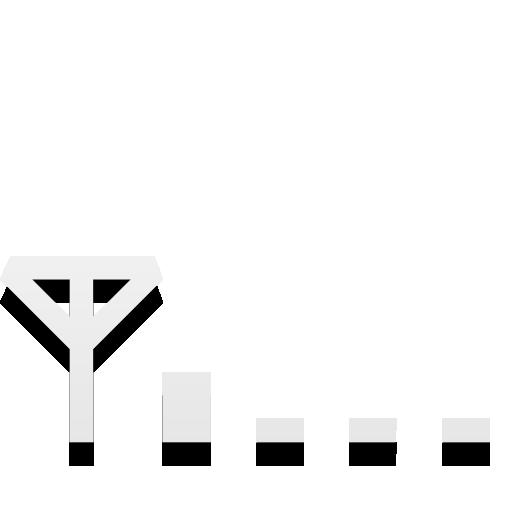 Network Cellular Signal Weak Icon