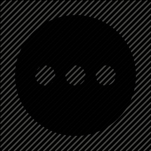Circle, Dots, Ellipsis Icon