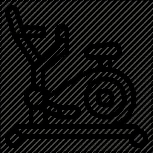Elliptical, Workout Icon