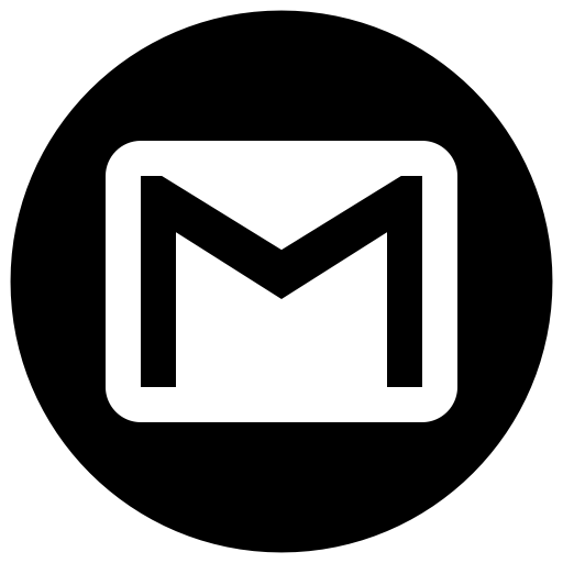 Email, Contacts, Contact, Address Book, Gmail, Circle Icon