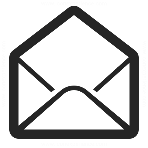 Mail Open Icon Iconexperience
