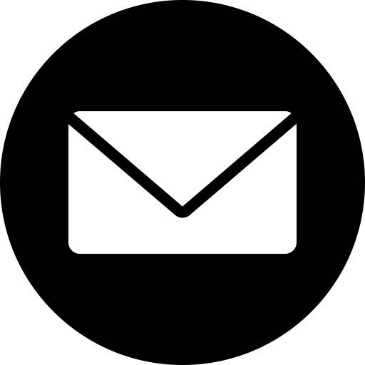 Circle, Messages, Email, Message, Mail, Letter, Inbox Icon