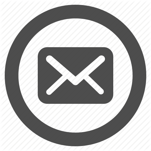 Email Icons Circle