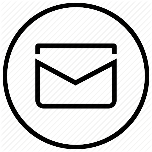 Circle, Email, Envelope, Letter, Mail Icon