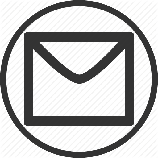 Circle, Email, Letter, Mail, Message Icon