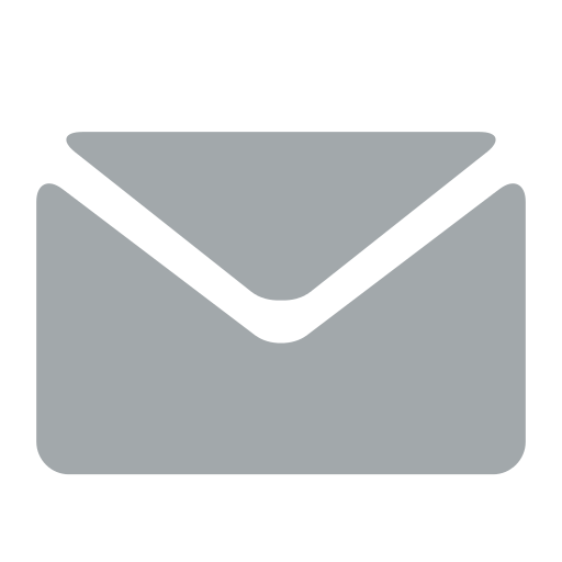 Email Icons White Color