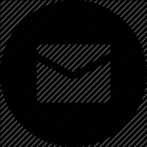 Gmail Black And White Circle Logo Png Images