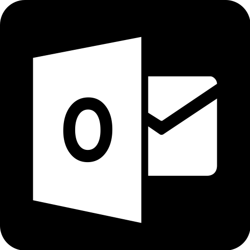 Ideas E Mail, Email, Logo, Mail, Outlook, Square Icon For You