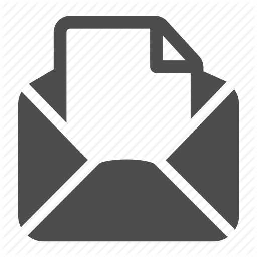 Email, Envelope, Letter, Mail, Open, Page, Receive Icon
