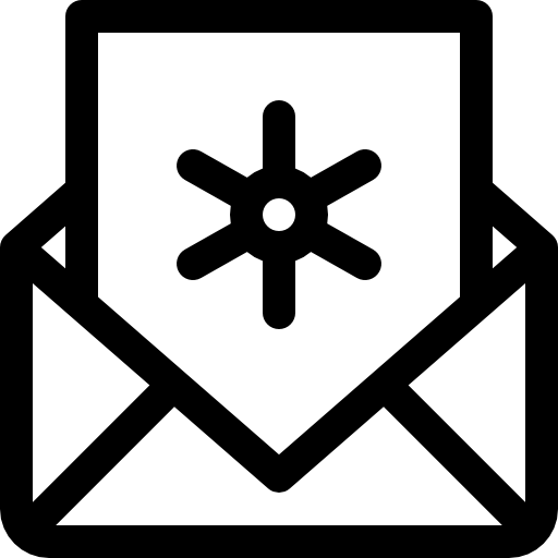 Email Icon White Transparent