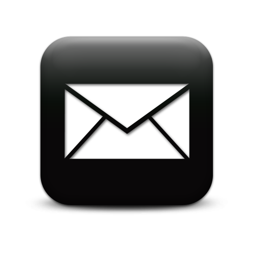 Email Icon White Transparent Background