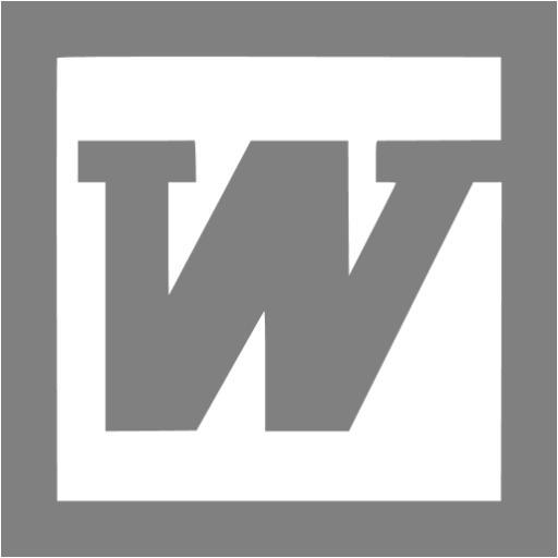 Gray Word Icon