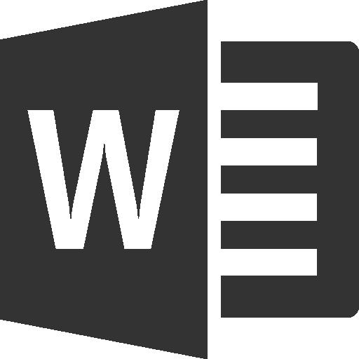 Word Icons Windows