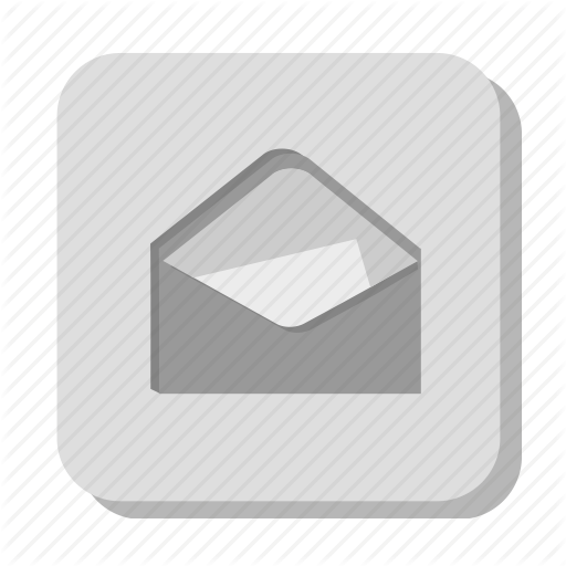 Contact Email Icon Grey Images
